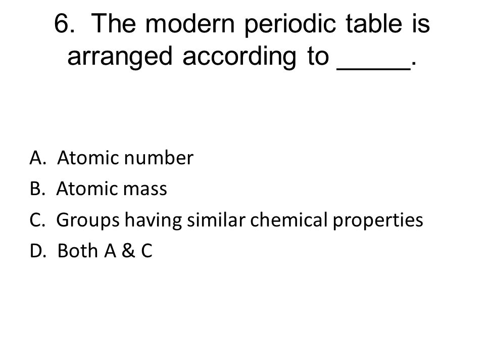 Unit 5 Review Periodic Table Trends Ppt Download