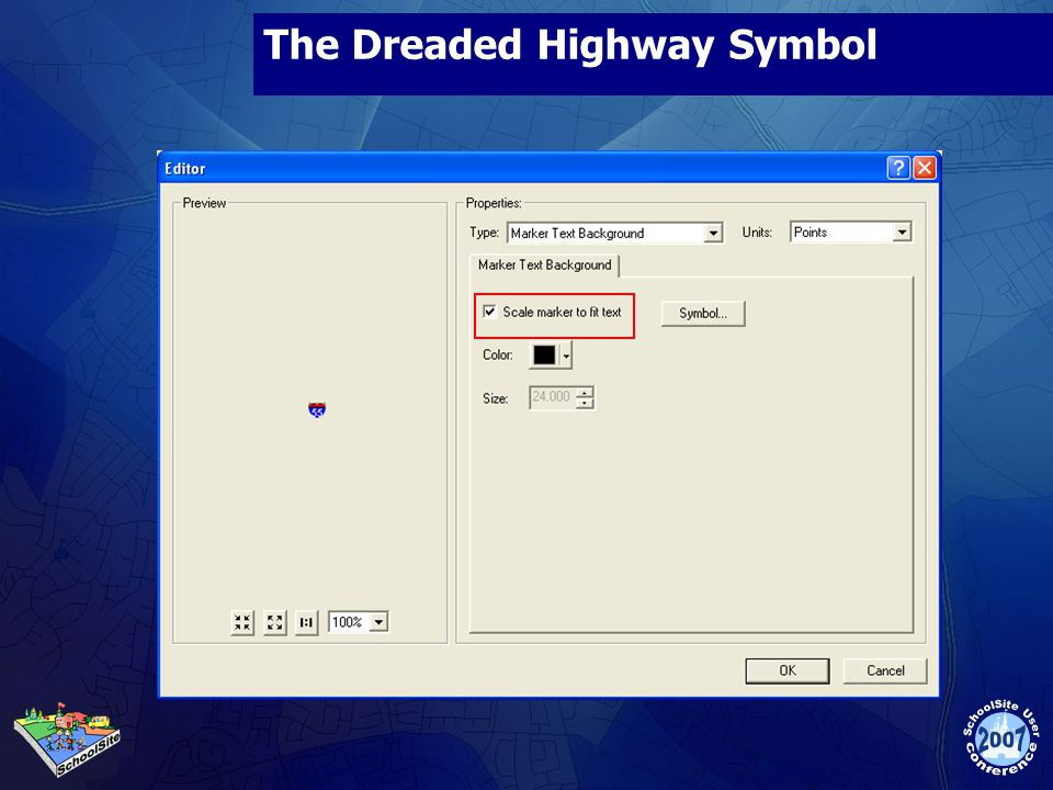 The Dreaded Highway Symbol