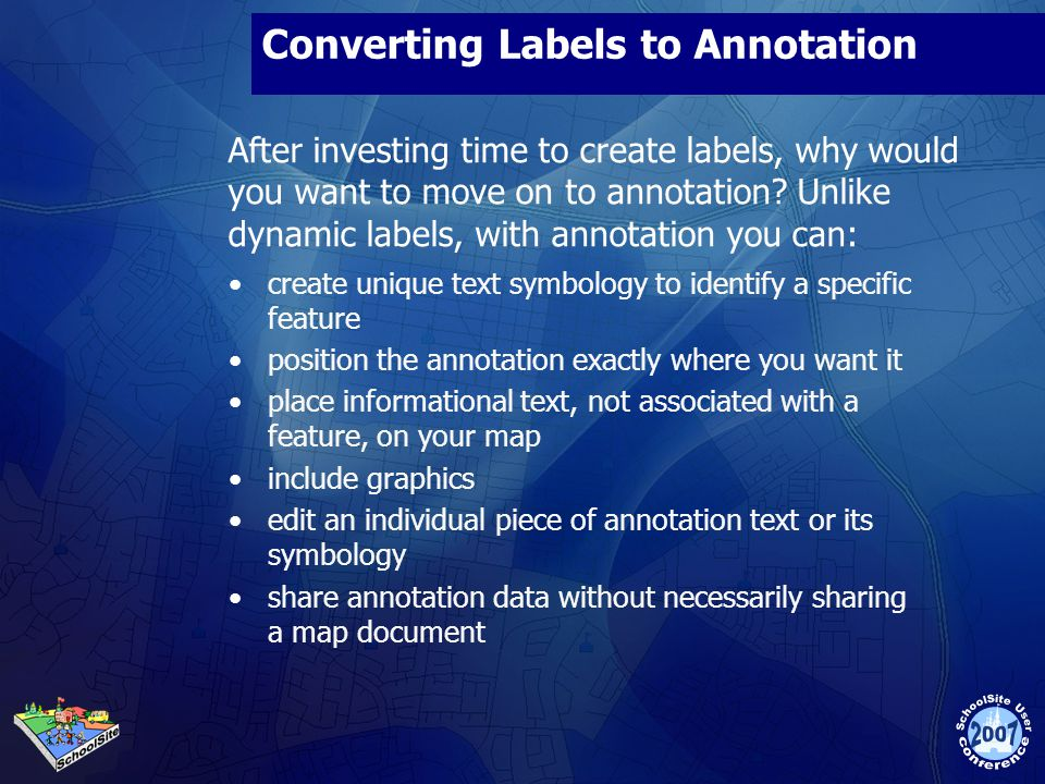Converting Labels to Annotation