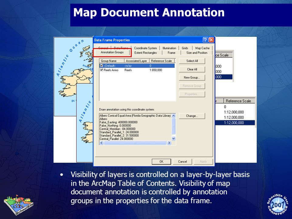 Map Document Annotation