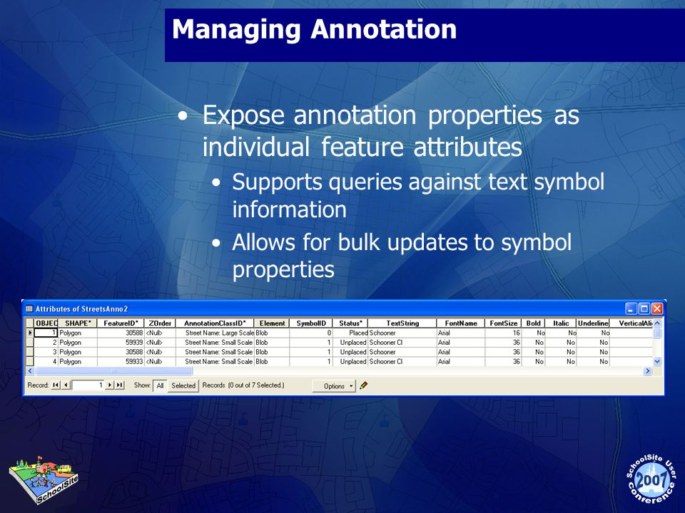 Expose annotation properties as individual feature attributes
