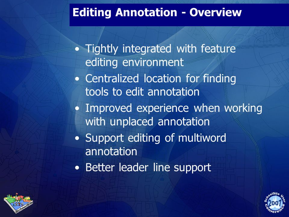 Editing Annotation - Overview