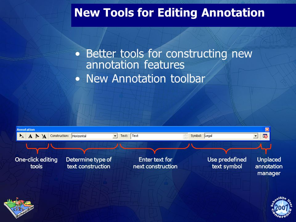 New Tools for Editing Annotation