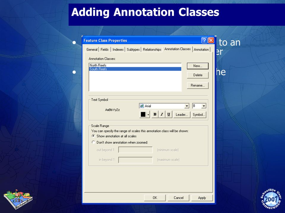 Adding Annotation Classes