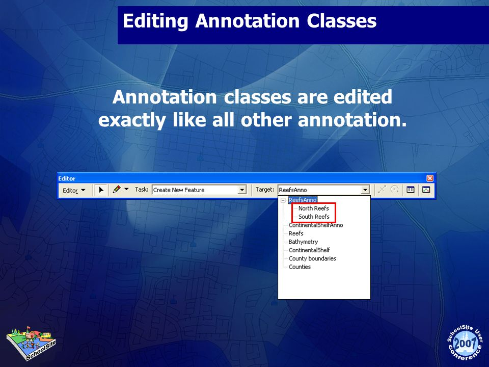 Editing Annotation Classes