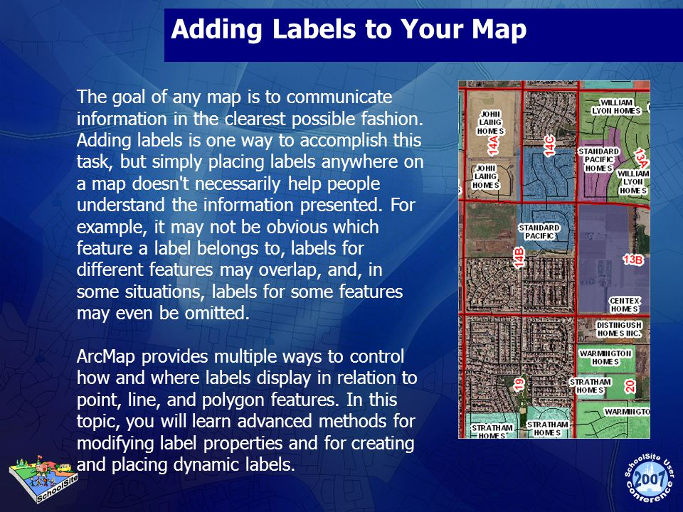 Adding Labels to Your Map