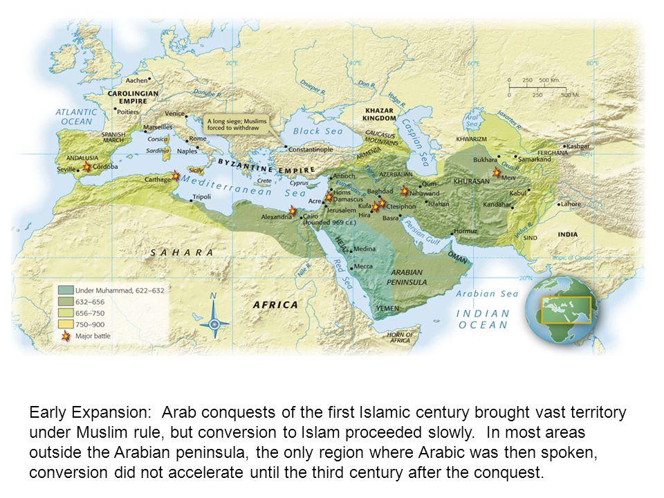 Map Of Spain Under Muslim Rule.The Muslim World Ppt Download