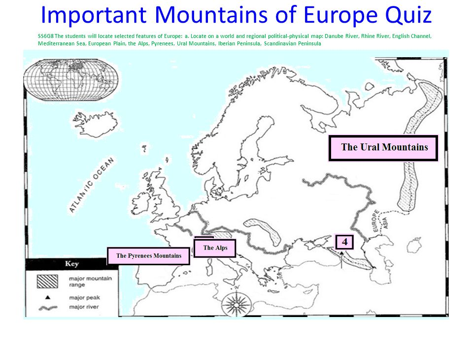 Physical Map Of Europe Ppt Video Online Download