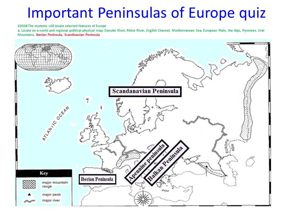 Political Map Of Europe Quiz.Physical Map Of Europe Ppt Video Online Download