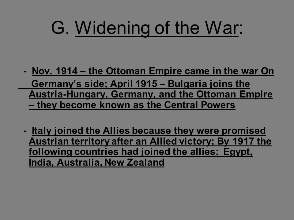 wwi u201cthe war to end all wars u201d ppt download rh slideplayer com chapter 16 guided reading the allied victory answers