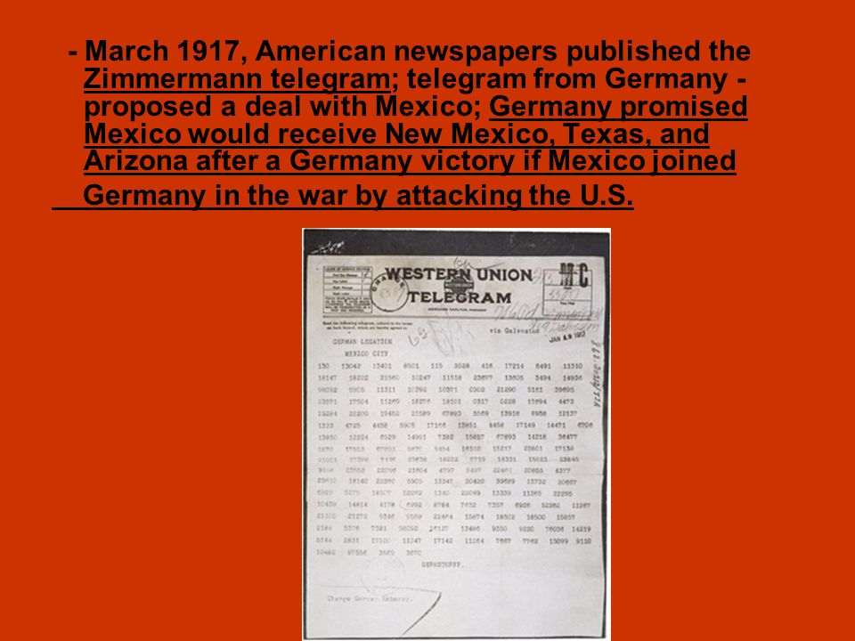 Wwi The War To End All Wars Ppt Download