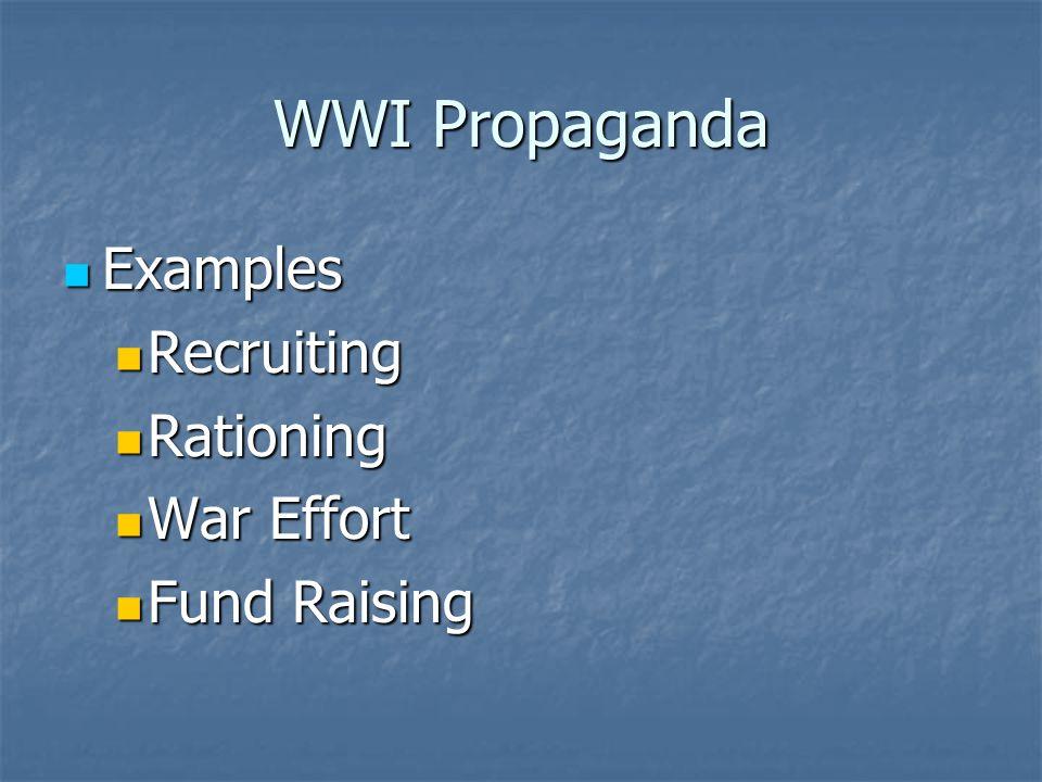 Wwi Propaganda Criteria Emotional Appeal Evocative Symbols Ppt