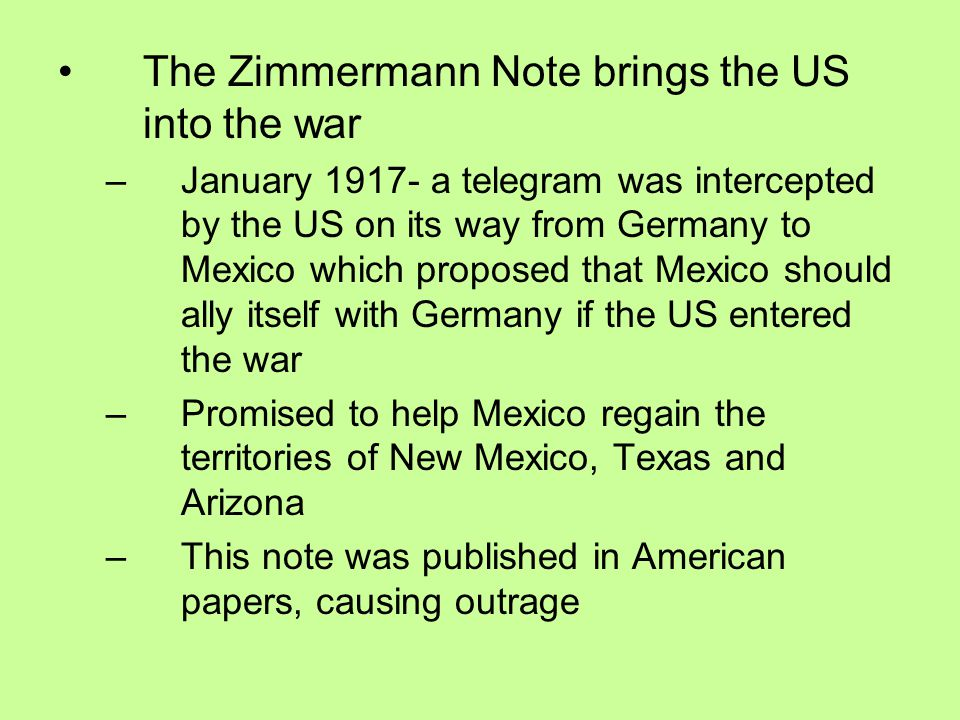 The Great War World War I Ppt Download