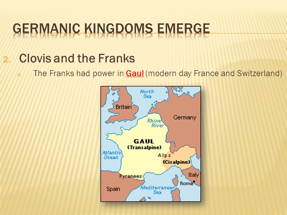where is modern day gaul