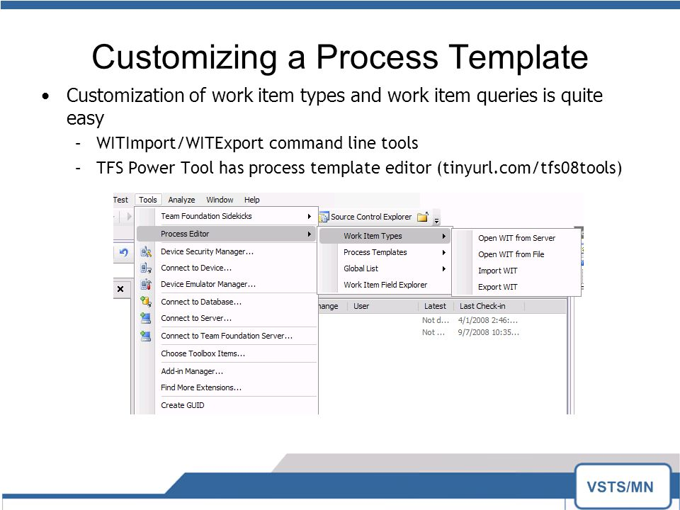 Scott colestock scrum with tfs ppt download customizing a process template maxwellsz