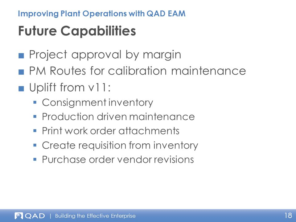 Future Capabilities Project approval by margin