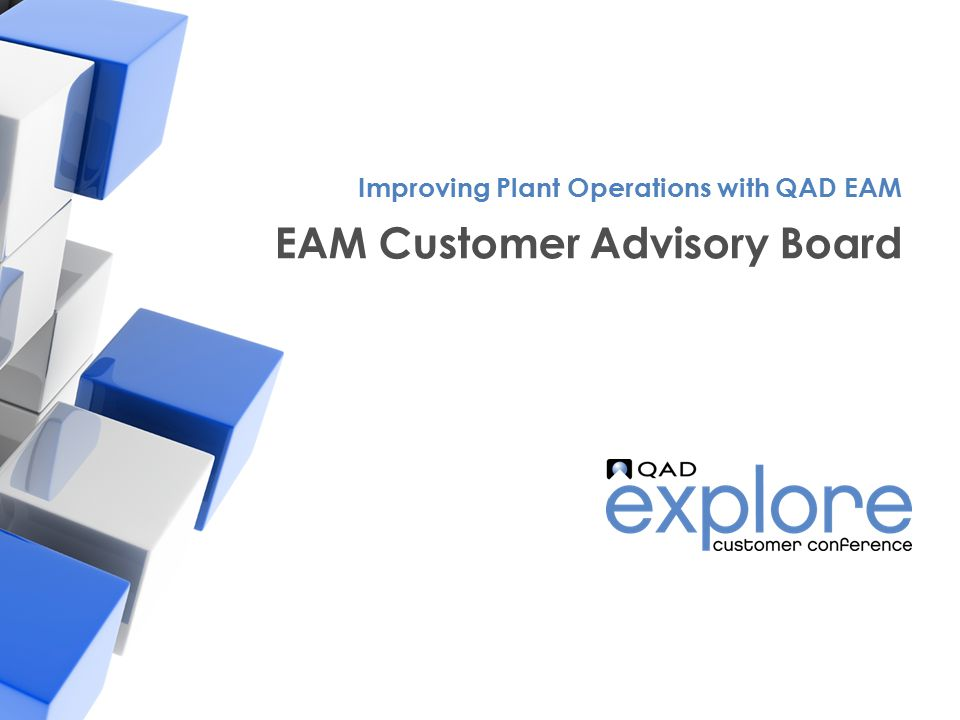 EAM Customer Advisory Board
