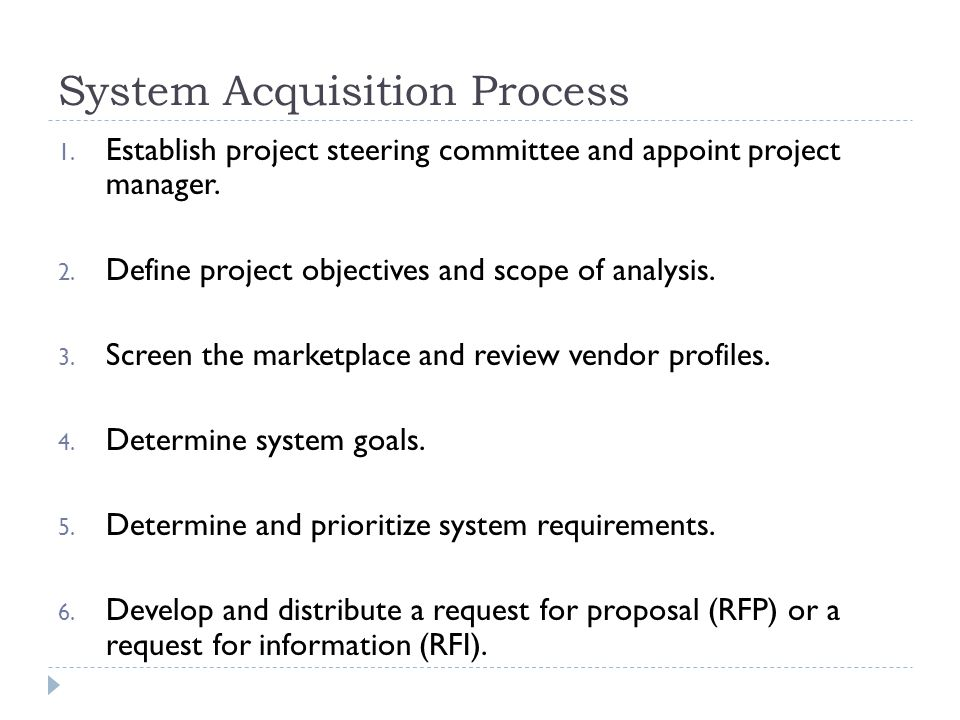 System development Life Cycle and Acquisition - ppt video online