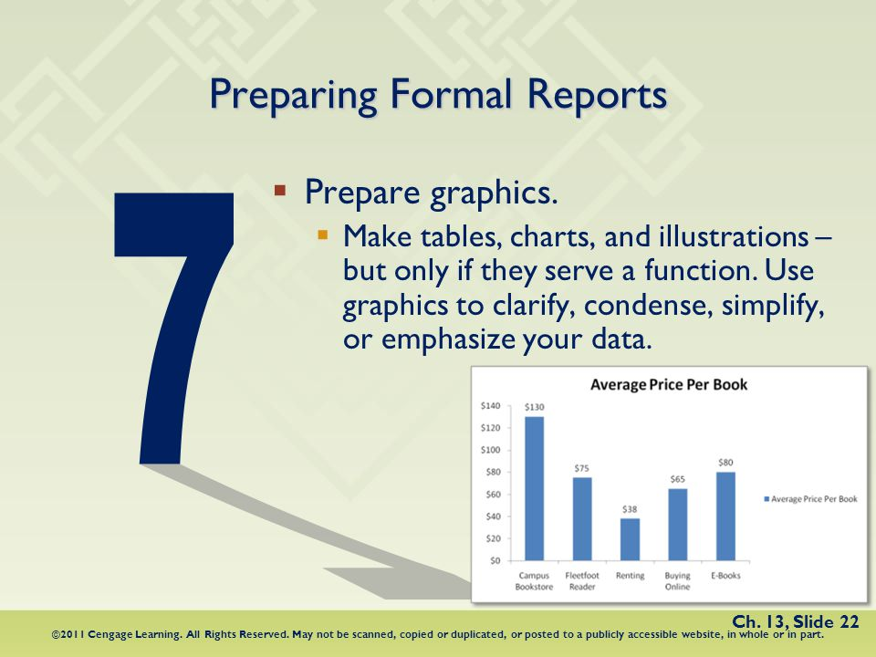 Chapter 13 proposals business plans and formal business reports 22 preparing formal reports fandeluxe Image collections