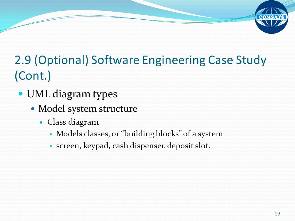 2.9 (Optional) Software Engineering Case Study (Cont.)