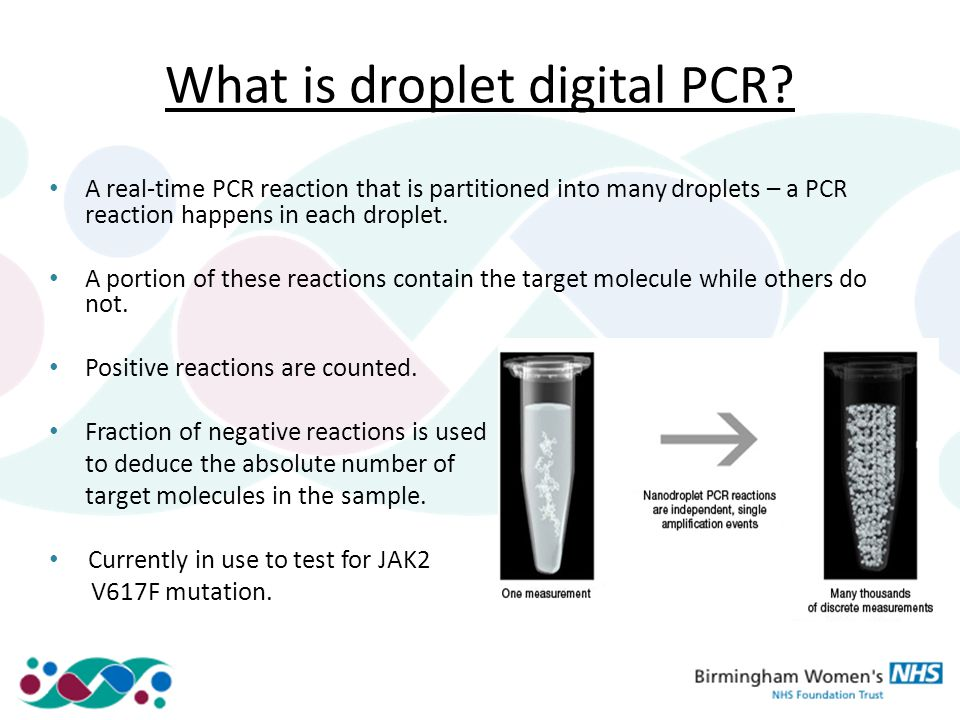 Droplet digital PCR Overview and applications - ppt video