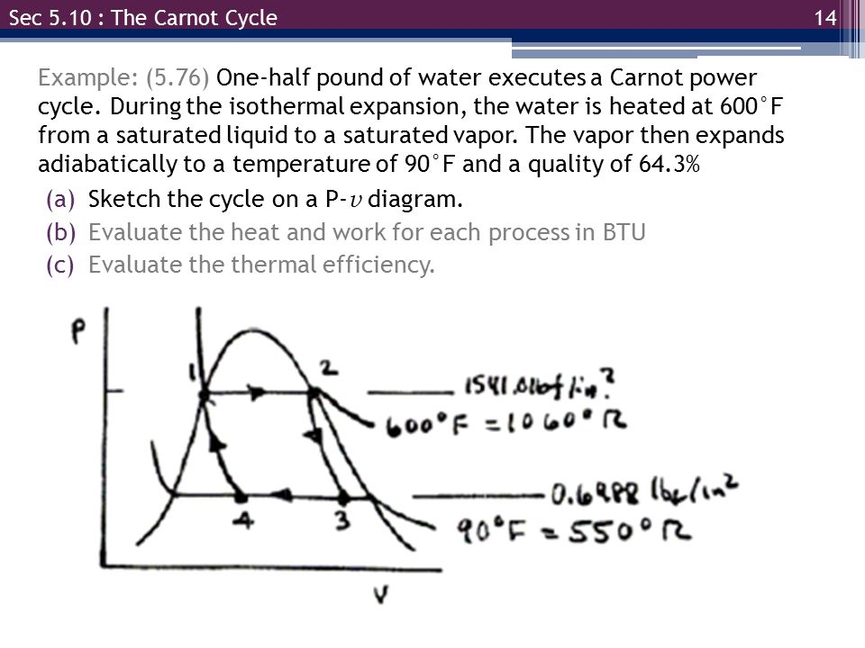 Egr 334 Thermodynamics Chapter 5 Sections Ppt Video Online Download