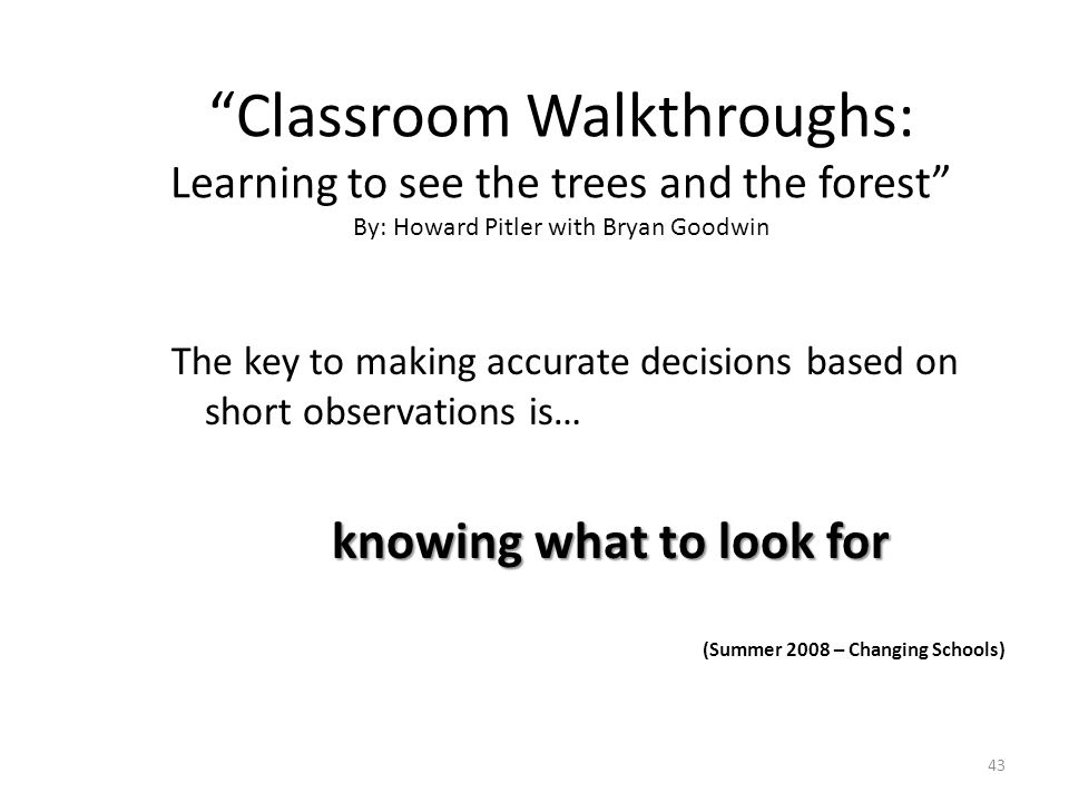 What Should Tier 1 Look Like Classroom Walk Throughs Ppt Video