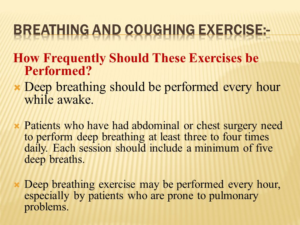 types of breathing exercises in physiotherapy pdf