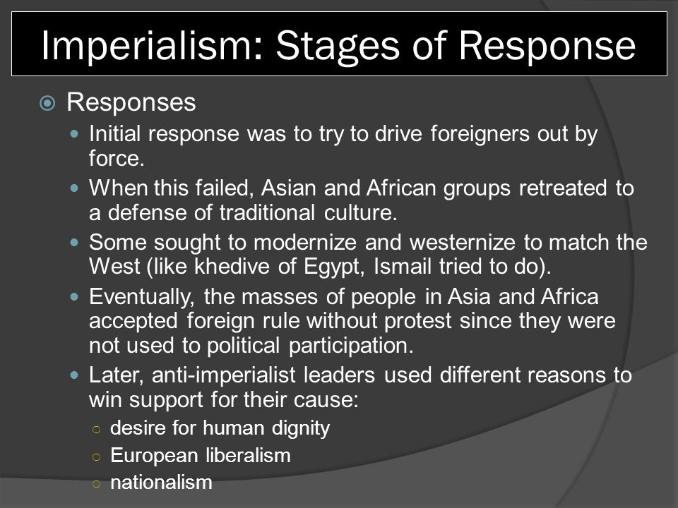 compare japan response to western imperialism to that of china how were the two responses similar