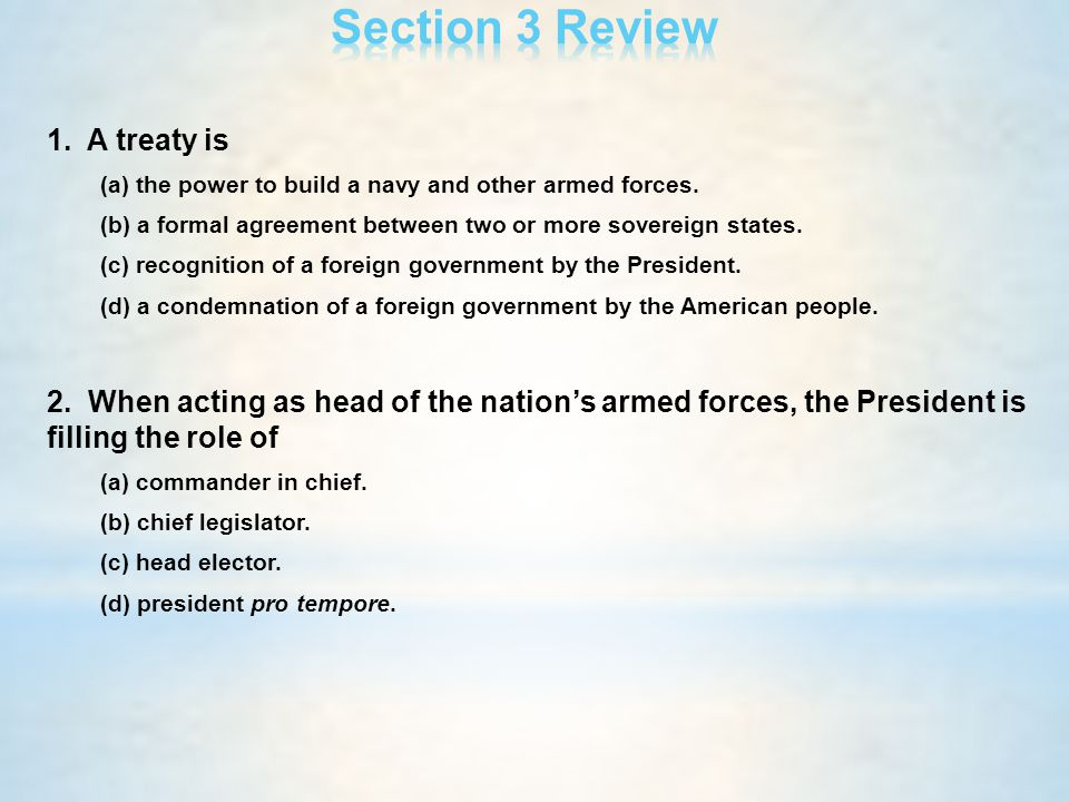 C H A P T E R 14 The Presidency In Action Ppt Download