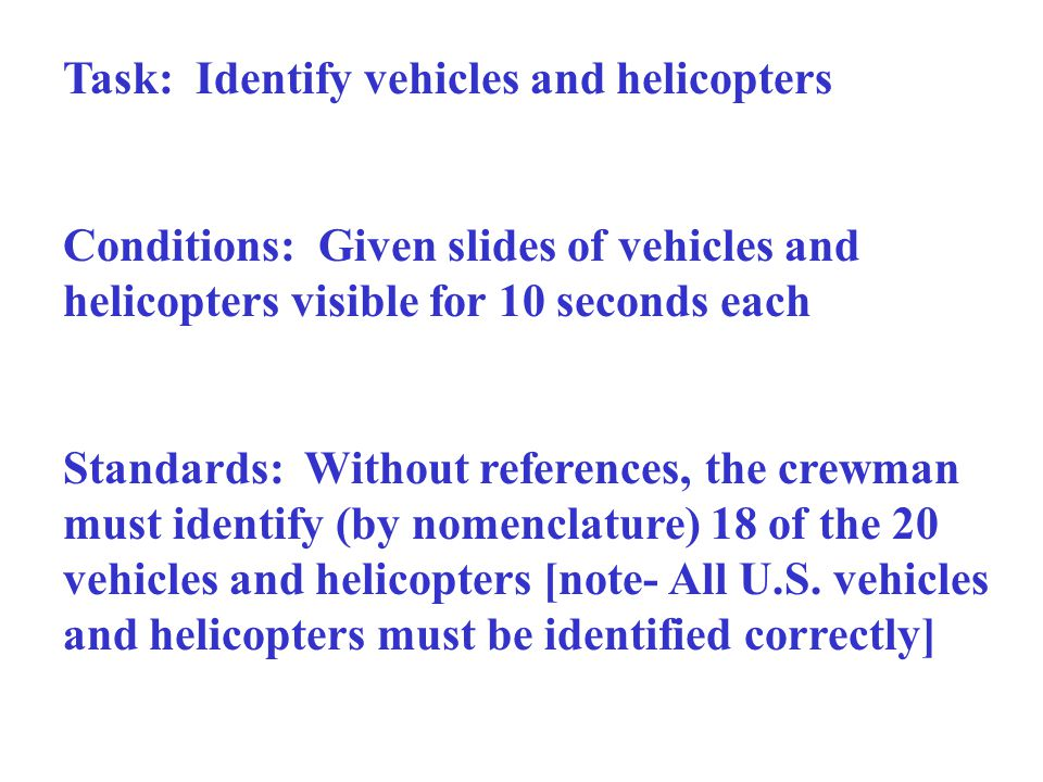 Task: Identify vehicles and helicopters