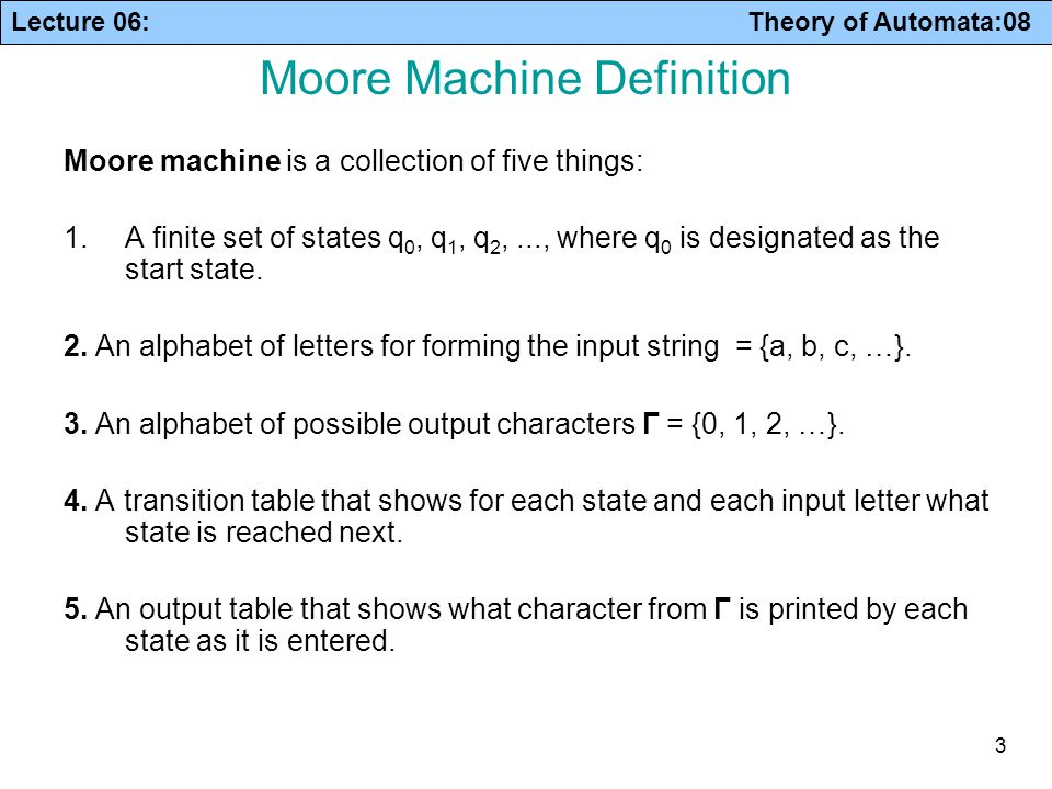 Finite Automata with Output - ppt download