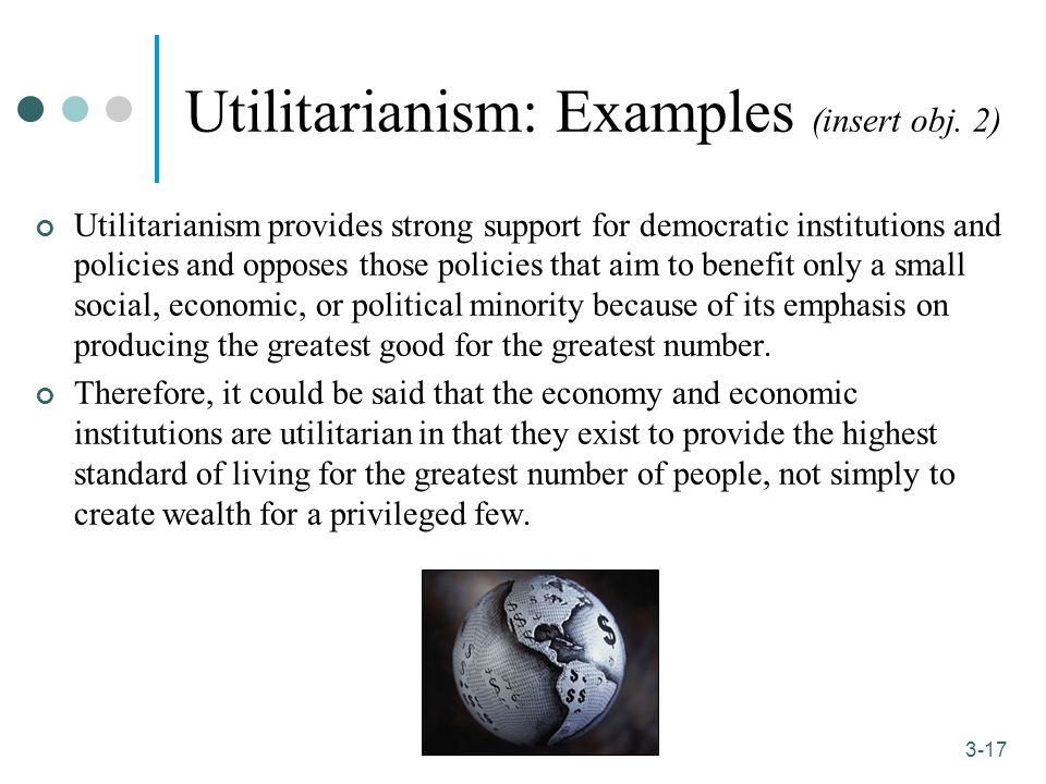 ethics and utilitarianism Utilitarianism definition is - a doctrine that the useful is the good and that the determining consideration of right conduct should be the usefulness of its consequences specifically : a theory that the aim of action should be the largest possible balance of pleasure over pain or the greatest happiness of the greatest number.