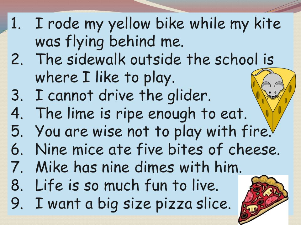 I rode my yellow bike while my kite was flying behind me.