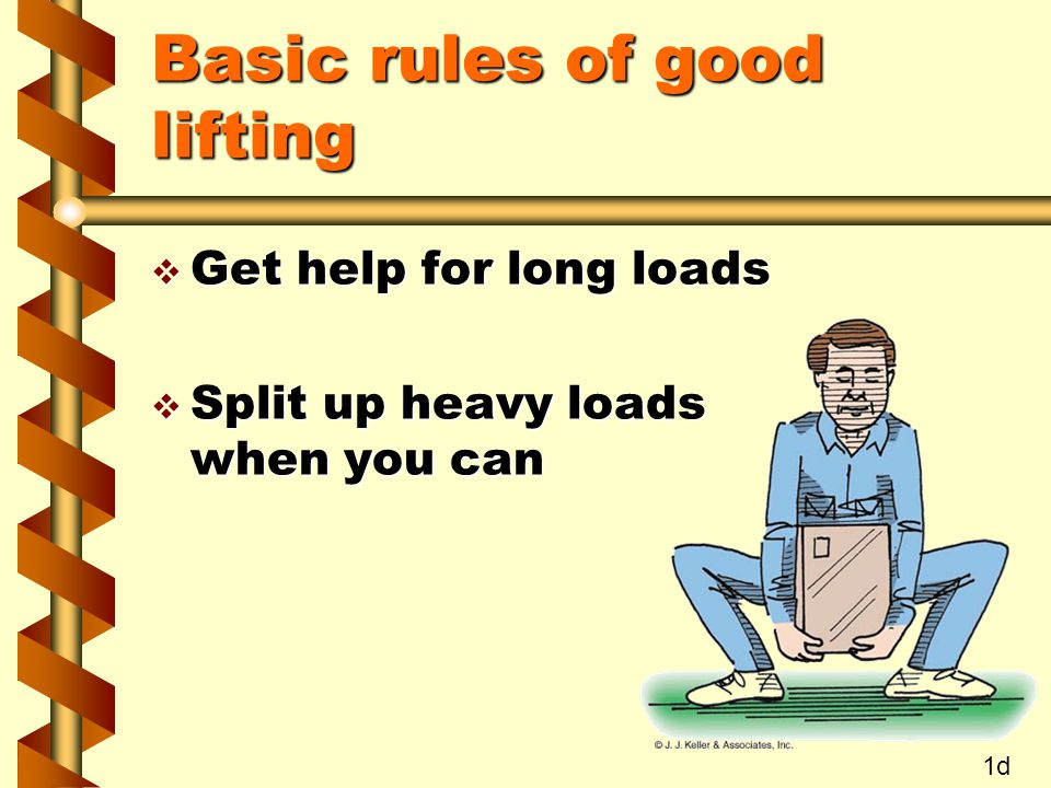 Basic rules of good lifting