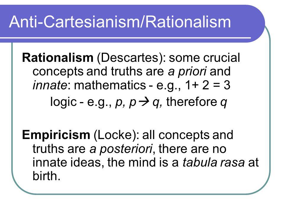 8a7ea11189a LOCKE'S CAUSAL THEORY OF PERCEPTION. 2 JOHN LOCKE. JOHN LOCKE. 3  Anti-Cartesianism/Rationalism