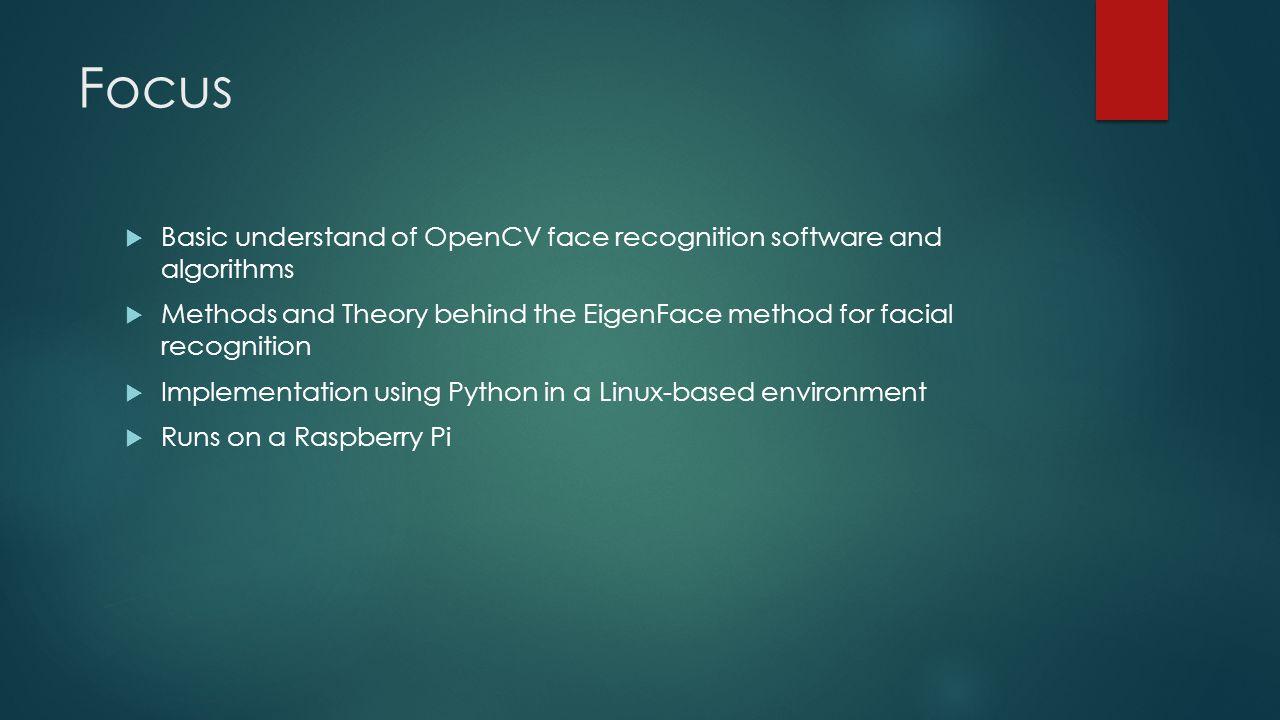 Face Recognition Method of OpenCV - ppt video online download