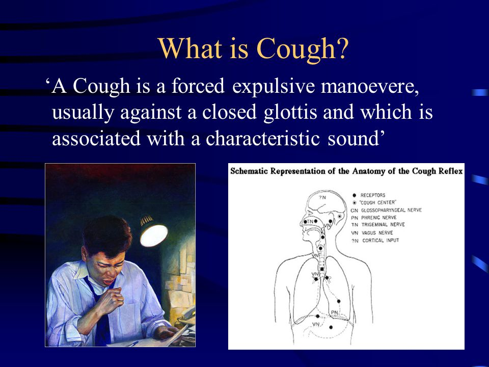 Cough Diagnosis and Management - ppt video online download