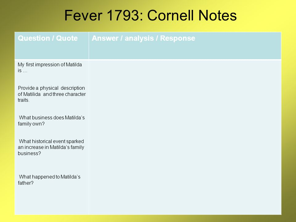 Fever 1793 By Laurie Halse Anderson Ppt Video Online Download