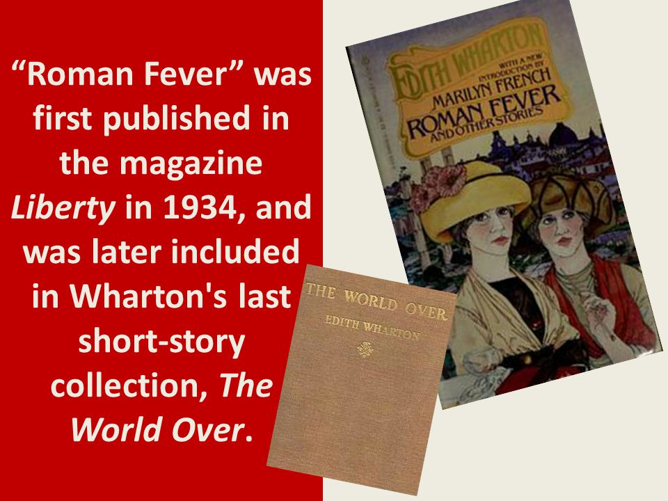 roman fever edith wharton summary