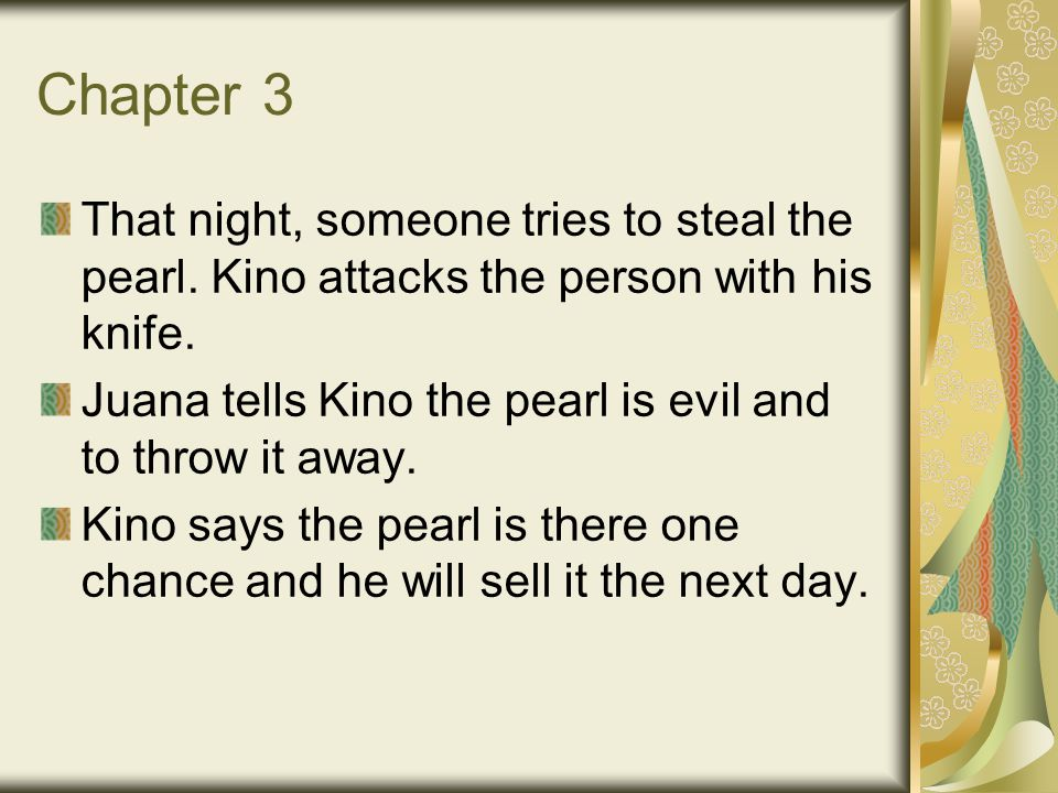 the pearl kino character traits