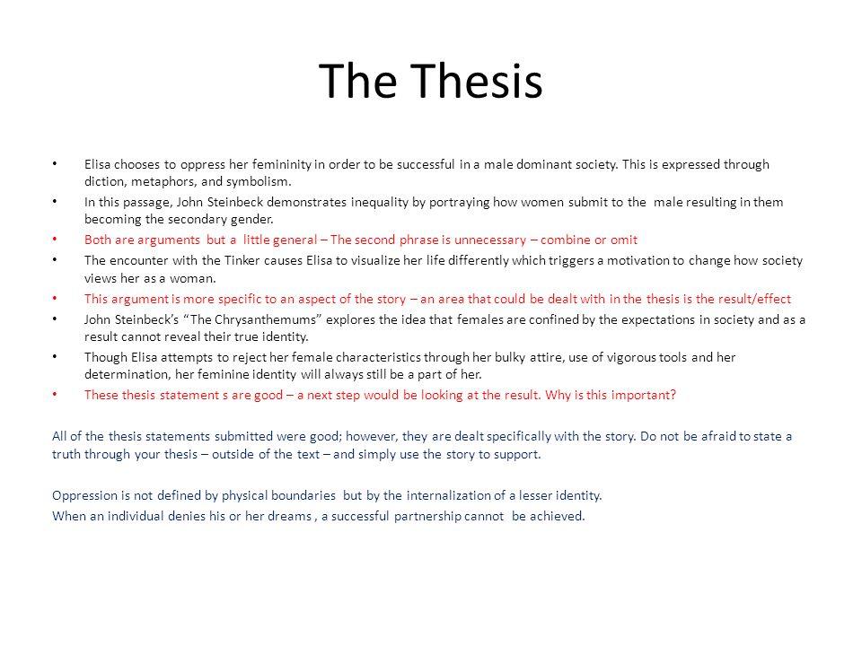 The chrysanthemums: themes, symbolism & analysis video & lesson.