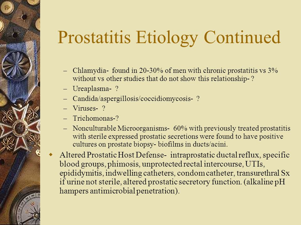 Uretroprostatitis