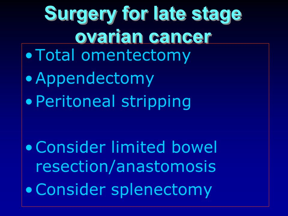 Surgical Approach To Gynaecological Cancers Ppt Video Online Download