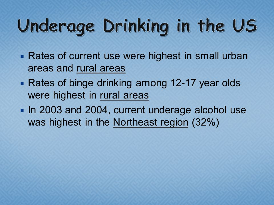 Video Issues Underage Ppt Online Download amp; - Current Drinking Trends