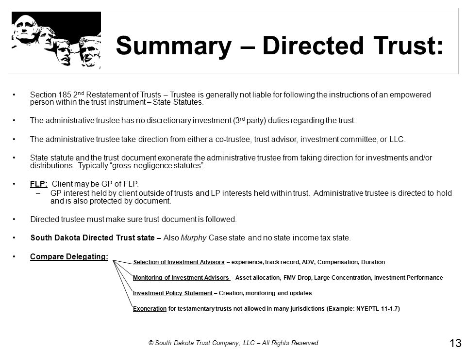 Private Label Trust Services Ppt Download