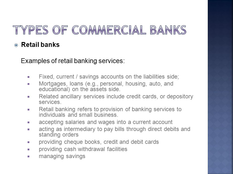 The two level structure of the banking system ppt download types of commercial banks altavistaventures Gallery