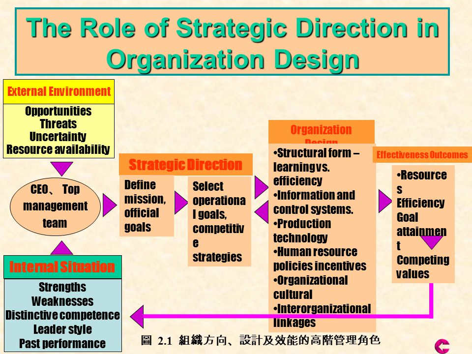 Chapter 5 Strategy Organization Design And Effectiveness Ppt Video Online Download