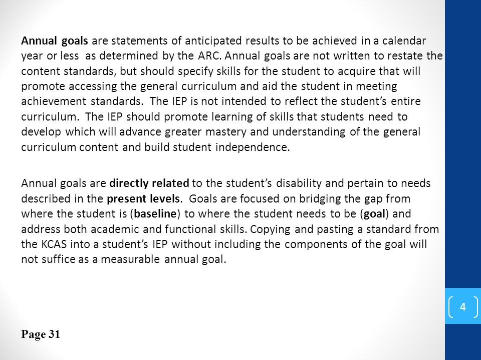 Providing Iep May Not Suffice If >> Writing Meaningful Iep Goals Ppt Download