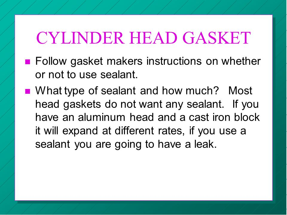 SEALS, GASKETS & SEALANTS - ppt video online download
